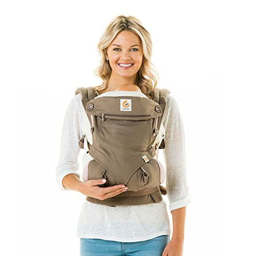 Ergobaby Four Position 360 Baby Carrier Taupe Lilac